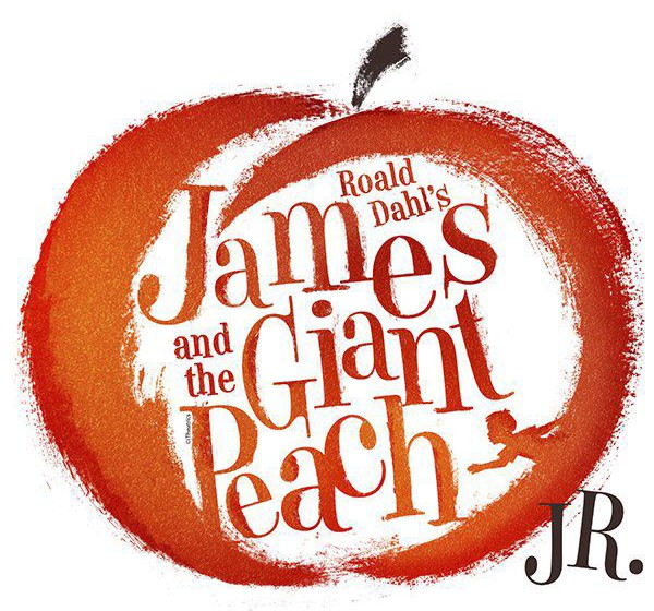 James Giant Peach logo