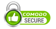 This website is ssl secured by Comodo logo